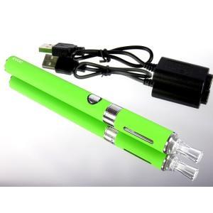 充電式電子タバコ 本体 のみ ライムグリーン 禁煙グッズ 液体リキッドで水蒸気の煙 節煙 減煙|advanceworks2008