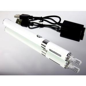 充電式電子タバコ 本体 のみ ホワイト 禁煙グッズ 液体リキッドで水蒸気の煙 節煙 減煙|advanceworks2008