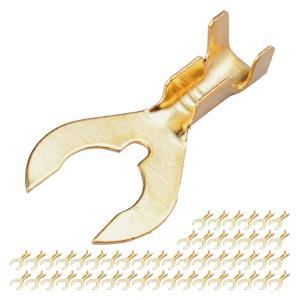 クワガタ端子 M6 6mm ギボシ端子 50個セット|advanceworks2008