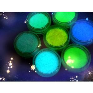 ネイル夜光パウダー 4色アソート 2g 2.05g~2.1g|advanceworks2008