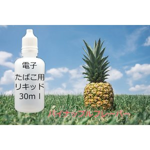 電子タバコ用 汎用 液体リキッド パインアップル 30ml eGO-T ベイプ VAPE 等に 水蒸気 水煙 煙草 たばこ 禁煙|advanceworks2008
