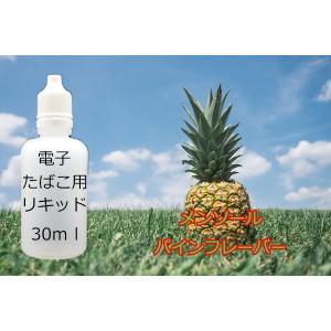 電子タバコ用 汎用 液体リキッド パインアップルメンソール 30ml eGO-T ベイプ VAPE 等に 水蒸気 水煙 煙草 たばこ 禁煙|advanceworks2008