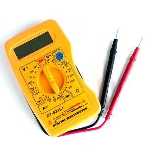 高性能 マルチデジタルテスター DIY 必須計測器 検電計 電圧 電流 抵抗 ダイオード|advanceworks2008