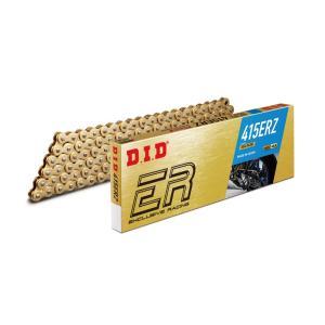 バイク チェーン モーターサイクル専用チェーン ERシリーズ 415ERZノンシールチェーン gold(ゴールド) 100L|advantage