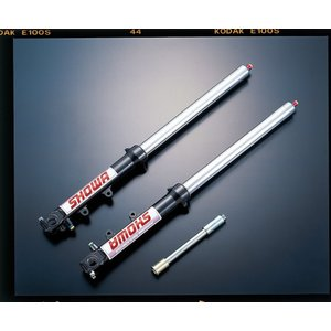 ADVANTAGE SHOWA Type-0 正立41φガンメタ(ハードクローム) 汎用品 511-S41800-GMK|advantage