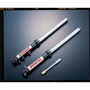 ADVANTAGE SHOWA Type-1 正立43φガンメタ(ハードクローム) 汎用品 511-S43800-GMK|advantage