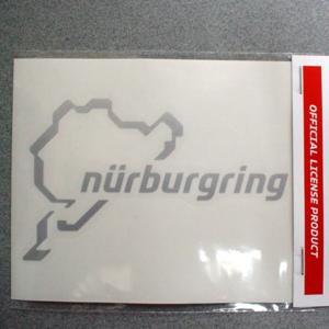 ニュルブルクリンク ステッカー 12cm NRA9922A