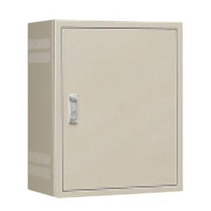 日東工業 B12-105-2LS 熱機器収納キャビネット・扉換気口なし 木製基板付 ライトベージュ塗装|adwecs
