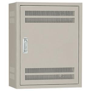 日東工業 B12-43L 熱機器収納キャビネット 木製基板付 ライトベージュ塗装|adwecs