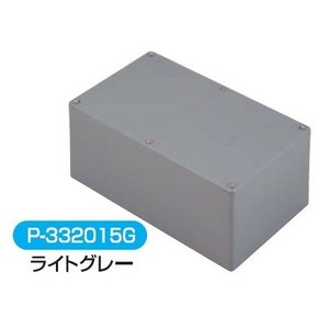 伊藤電気製作所 P-303030G 一般平蓋プールボックス 【ライトグレー】|adwecs