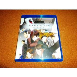 未使用BD ジョーカー・ゲーム 全12話BOXセット 開封品 北米版