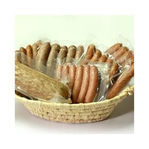 [TONTON有機農場]もち豚三元豚 ソーセージいろいろ6種セット|aemon
