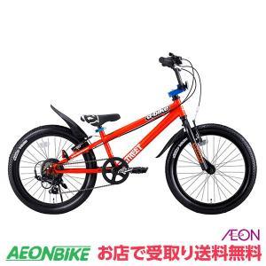 【お店受取り限定】アイデス 20インチ D-Bike Xstreet 20 オレンジ 20型 外装6段変速|aeonbike