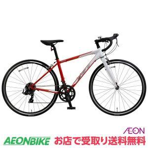【お店受取り限定】KAGRA (カグラ) R-1-K ロードバイク 465mmサイズ レッド/ホワイト 700C 外装14段変速 aeonbike
