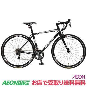 【お店受取り限定】KAGRA (カグラ) R-3-K ロードバイク 430mmサイズ ブラック/ホワイト 700C 外装16段変速 aeonbike