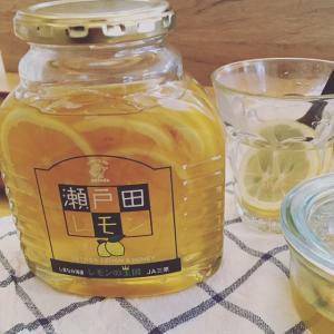 瀬戸田レモン 【防カビ剤不使用、低農薬で作られた国産レモンを蜂蜜に漬け込みました】