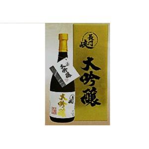 日本酒 長門峡 大吟醸 720ml 岡崎酒造