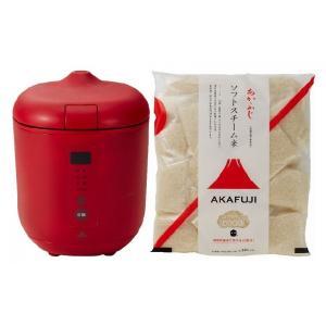 炊飯器PODDI レッド+SS白米75g×30 神明きっちん|aeonkyushu-umaimono