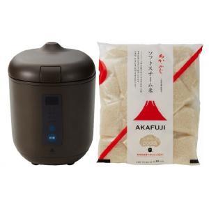 炊飯器PODDI ブラウン+SS白米75g×30 神明きっちん|aeonkyushu-umaimono