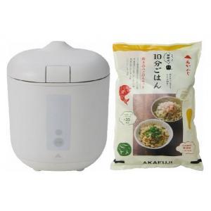 炊飯器PODDI ホワイト+炊き込みご飯セット 神明きっちん|aeonkyushu-umaimono