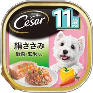 11歳からの愛犬のために、厳選した上質なささみに贅沢に野菜を加え、ヘルシーに仕上げたドッグフードです
