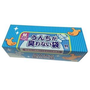 ペット クリロン化成 うんちが臭わない袋 BOS 大容量パック Mサイズ 90枚入...
