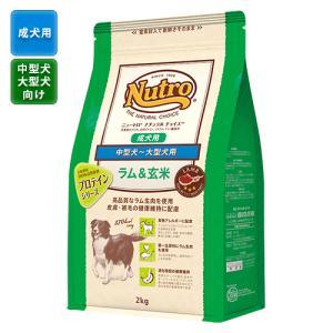ニュートロ ナチュラルチョイス 『成犬用』 中型犬〜大型犬用 ラム&玄米 13.5kg