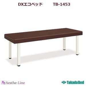 (高田ベッド)  DXエコベッド TB-1453 治療用ベッド 診察台 診察ベッド  (ポイント3倍)