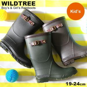 Wild Treeの大人気レインブーツ☆ サイドベルト付きのジョッキータイプです。 男女問わず履けち...