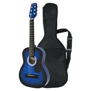 Sepia Crue セピアクルー ミニアコースティックギター W-50/BLS ブルーサンバースト (ソフトケース付)|afan-mori