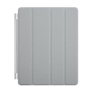【smart cover- Gray】 Apple 第4世代/第3世代/第2世代兼用 iPad スマートカバー New iPad4/iPad3/iPa|afan-mori