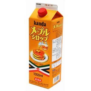 神田食品研究所 メープルシロップ 1000ml afan-mori