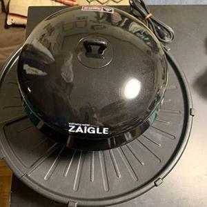 ザイグル赤外線サークルロースター黒(JAPAN-ZAIGLE)|afan-mori