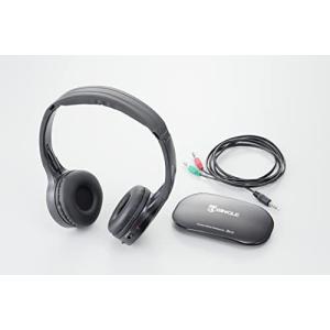 キヨラカ(Kiyoraka) コードレスヘッドホン 「楽々聴くちゃん」 HP-001 afan-mori