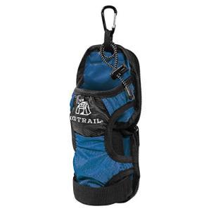ペットボトルホルダーカバーVer.2.0【MGTRAIL】登山リュック装着折畳傘も収納(ネイビー)
