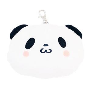 お買いものパンダ(おかいものぱんだ) ふわもこパスケースポーチ|afan-mori