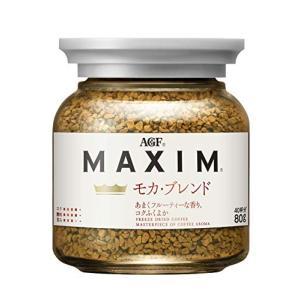 AGF マキシム モカブレンド 瓶 80g 【 インスタントコーヒー 】|afan-mori