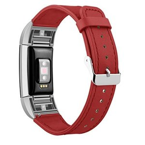 Kutop For Fitbit Charge 2 バンド 高品質な革 交換用バンド スマートウォッチベルト|afan-mori
