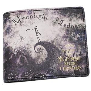 ナイトメアビフォアクリスマス[本革 二つ折り 財布]レザー ショート ウォレット/ver2 ディズニー|afan-mori