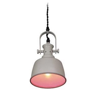 ペンダントライト led 電球 対応 1灯 レトロ 天井照明 照明 ガラス おしゃれ YPL-527PK|afan-mori
