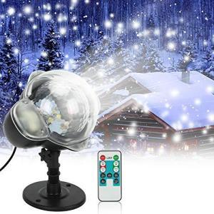 プロジェクターライト 投影ランプ LEDイルミネーションライト ステージライト クリスマス飾りライト LED投光器 舞台照明 エフェクトライト スポッ|afan-mori
