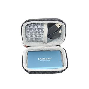 SANVSEN2.5インチ HDD SSD 収納ケース 収納ケース 携帯バッグ コンパクト ハードEVA 防震 防塵 防衝撃 Samsung T5 T|afan-mori