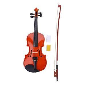 バイオリン セット ヴァイオリン 音楽 趣味 初心者・子供向け violin 1/8ヴァイオリン ケース付き 知育玩具 写真 撮影用 ギフト|afan-mori
