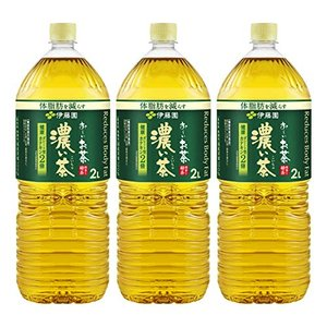 [機能性表示食品] 伊藤園 おーいお茶 濃い茶 2L×3本|afan-mori