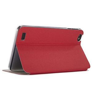 Zshion Teclast P80X タブレット ケース スタンド機能付き 保護ケース 薄型 超軽量 全面保護型 ふたつ折 高級スマートカバー (赤|afan-mori