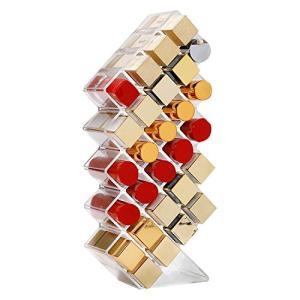 口紅収納ケース 口紅ボックス リップ収納 アクリルケース 透明 28仕切り大容量 口紅スタンド ホルダー リップグロスオーガナイザー 口紅・マニキュア afan-mori