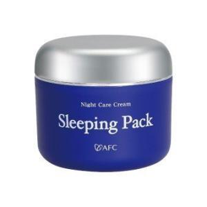スリーピングパック 80g 睡眠は美肌作りの大切な時間 スリーピングマスクで簡単スペシャルケア AF...