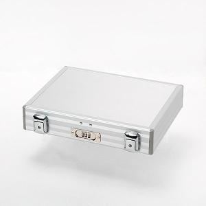 アルミ製アタッシュケース・3桁ダイヤルロック錠付/B5・Sサイズ