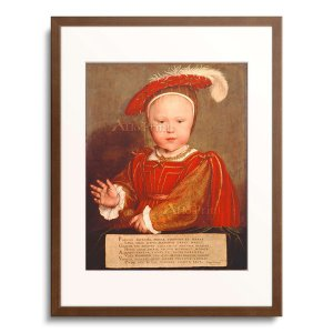 ハンス・ホルバイン(子) Hans Holbein der Jungere 「Edward, Pri...