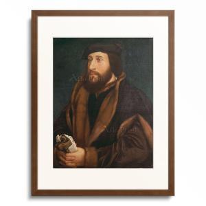 ハンス・ホルバイン(子) Hans Holbein der Jungere 「Unknown man...